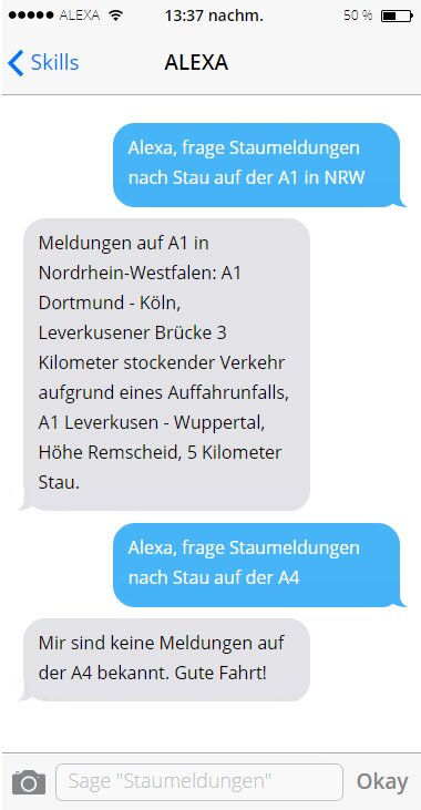 Staumeldungen Deutschland Mockup